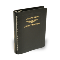 "Jeppesen Leather Binder 1"" Rings"