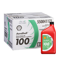 Aeroshell 100 Piston Engine Oil 550040906 (Carton of 12)