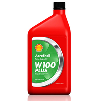 Aeroshell W100 Plus Piston Engine Oil 550040900 (1 Quart)