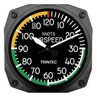 "Trintec 10"" Airspeed Instrument Style Clock"