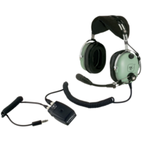 David Clark H10-13HXL Helicopter Modular ENC Headset