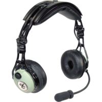 David Clark DC PRO-A Passive Headset with 5 Pin XLR Plug