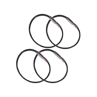 Flyboys Checklist Rings Black (Four Pack)