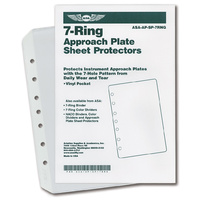 ASA 7 Ring Sheet Protectors - 10 Pack