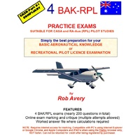 4 BAK Practice Exams - Rob Avery