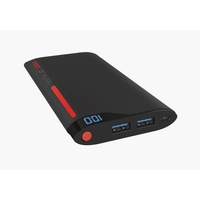 Cygnett ChargeUp Polymer Digital - 10,000mAh Dual Port 2.1Amp - Red/Grey