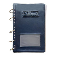 "Flyboys Checklist Page 8"" x 5"" - 25 Pack Including Cover & Metal Rings"