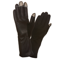 Flyboys Premium ETF Capacitive Nomex Flight Gloves, Black
