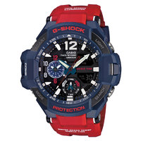 GA1100-2A - Casio G-Shock Gravity Defier Series - Twin Sensor - Red/Blue