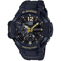 GA1100GB-1A - Casio G-Shock Gravity Defier Series - Twin Sensor - Gold/Black
