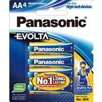 Panasonic Evolta Batteries AA 4pk