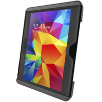 "RAM Tab-Tite Cradle for 10"" Tablets including the Samsung Galaxy Tab 4 10.1 and Tab S 10.5 with Heavy Duty Case"