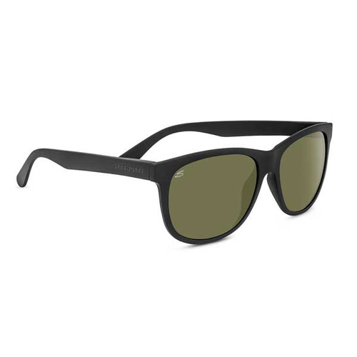 8360 - Serengeti Ostuni - Satin Black - 555 Polarized