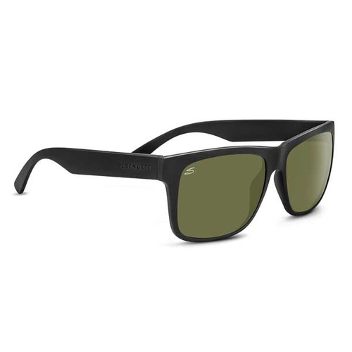 8370 - Serengeti Positano - Satin Black - 555 Polarized