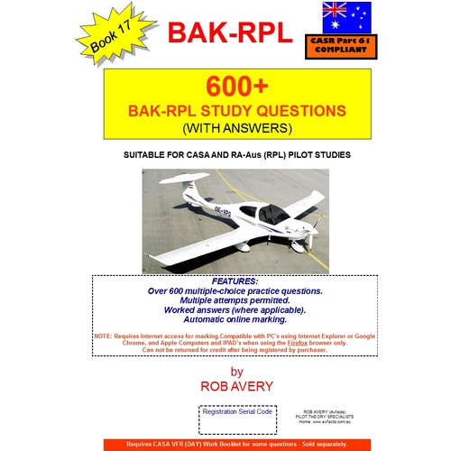 600+ BAK Questions - Rob Avery