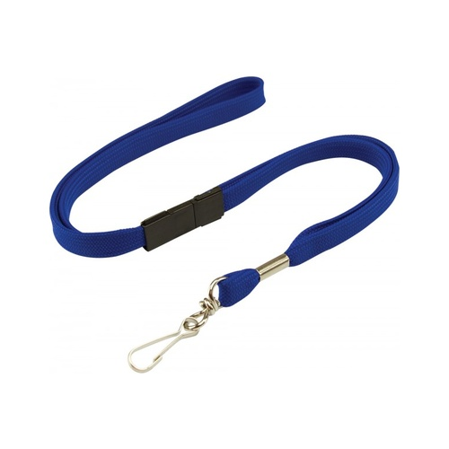 Royal Lanyard with Breakaway and Swivel Clip