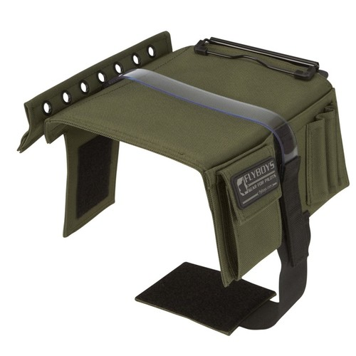 Flyboys Kneeboard with Eyelets & Clipboard - Olive Green