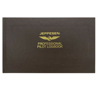 Jeppesen Professional Pilot Log Book