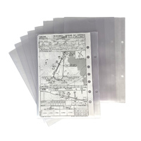 Design4Pilots A6 Transparent Pockets for Piccolo Profi Kneeboard