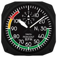 "Trintec 10"" Percent RPM Instrument Style Clock"
