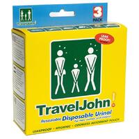 TravelJohn 3 Pack