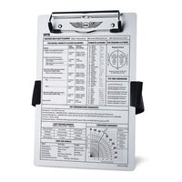 ASA VFR Clipboard with Strap