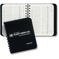ASA Flight Crew Pocket Log Book