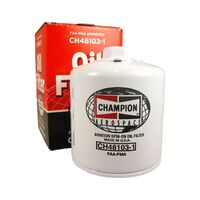 Champion Oil Filter CH48103-1 - Spin On, Short