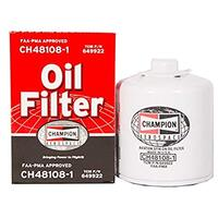Champion Oil Filter CH48108-1 - Spin On, Short