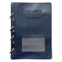 "Flyboys Jepps Checklist Page 8.5"" x 5.5"" - 25 Pack Including Cover & Metal Rings"