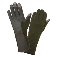 ETF Premium Capacitive Nomex Flight Gloves, Green