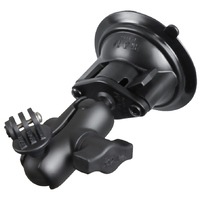 RAM-B-166-A-GOP1U Twist-Lock Suction Cup Mount with Short Arm & Universal Action Camera Adapter