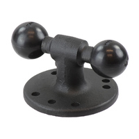 RAM® Double Ball Adapter with Round Base