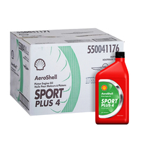 Aeroshell Sport Plus 4 Piston Engine Oil - 12 Carton