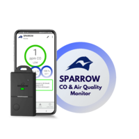 ECOSensors Sparrow CO Detector & Air Quality Monitor