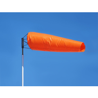 "Windsock Orange 18"" x 60"" (5 Foot)"